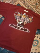 vintage 90's olde english 800 malt liquor promo tee shirt st ides Xl single stit