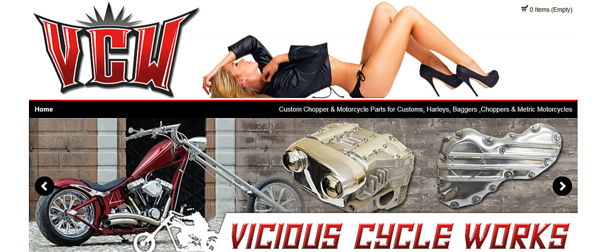 VICIOUS CYCLE WORKS VICTORIOUS SHOP