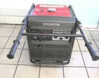 Honda EU6500is 6500 Watt 13 HP INVERTER Generator W/4 wheel