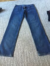 Vintage HELMUT LANG Made In ITALY denim JEANS  32x33