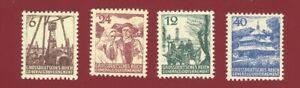 "1944 Poland General Gouvernement ""Gorale"" ""Widoki"" mnh"