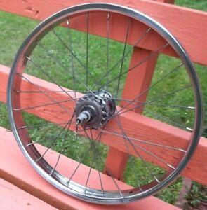 "VINTAGE SCHWINN STINGRAY 20"" BICYCLE RIM WHEEL  S-2  STURMEY ARCHER 3 SPEED HUB"