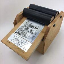 Leonardo 4x5 Pinhole Camera dated and Signed  2002 Wooden