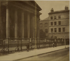 Londres vintage albumen print Tirage albuminé  20x25  Circa 1875