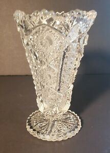 Vintage Vase Imperial Daisy and Button Hobstar