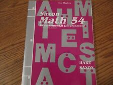 Saxon Math for sale | eBay