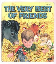 Vintage Children's Whitman Tell-A-Tale Book ~ THE VERY BEST OF FRIENDS