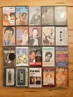 audio music cassette tapes bundle joblot x 20 as pictured mct3
