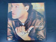 """Pink Floyd"" David Gilmour Hand Signed ""About Face"" Album Authenticated"