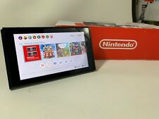 Nintendo Switch HAC-001 Console Tablet Only W/ Games Downloaded