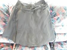 Ladies French Connection 'swirly', dressy black skirt, with beaded detail,  12