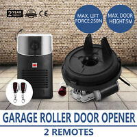 Electric Garage Roller Remote Door Opener Quiet Easy Install Motor Drive