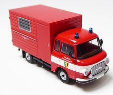 H0 BREKINA Barkas B 1000 KF Feuerwehr Technisches Zentrum Leipziger Land # 30358