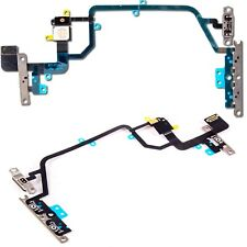 For iPhone XR Power Flex Cable Volume Buttons & Mute Switch With Brackets