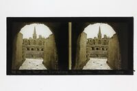 Arles Anfiteatro Francia Foto Stereo Placca Da Lente Vintage 1932