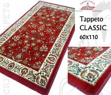 Tappeto CLASSIC 60x110 Polipropilene Col. Rosso a Fiori Ottima Qualità