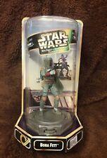 Star Wars BOBA FETT Epic Force Figure on Rotating Base 1997 Kenner NEW