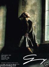 Publicité advertising 1989 Haute Couture Fourrure Geny Moda par D. Issermann
