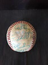 Baltimore orioles team signed baseball. Cal Ripken, earl weaver autographed.