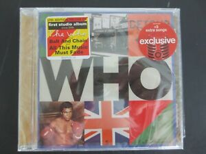 The Who~Who~2019 Limited Edition CD~3 Extra Songs~Target Exclusive~Sealed