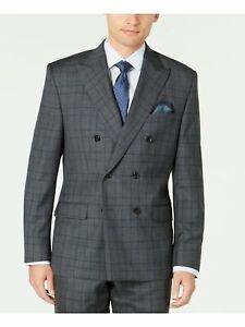 RALPH LAUREN Mens Gray Heather Suit Separate 44 SHORT