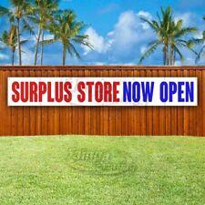 Surplus Store Now Open Advertising Vinyl Banner Flag Sign Large Huge Xxl Size
