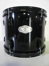 "Pearl Vision VX Series Rack Tom - 12 X 9"" - Jet Black - Birch Shell"