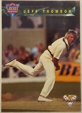Dennis Lillee Original Cricket Trading Cards