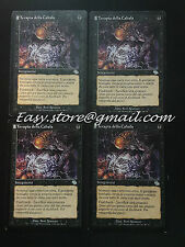 SET 4X TERAPIA DELLA CABALA - CABAL THERAPY  - MTG MAGIC
