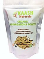 ASHWAGANDHA POWDER (Indian Ginseng) USDA Certified Organic 100% Raw Adaptogenic