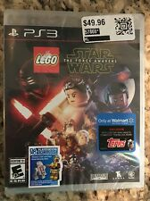 LEGO Star Wars: The Force Awakens (Sony PlayStation 3) Walmart Exclusive NEW