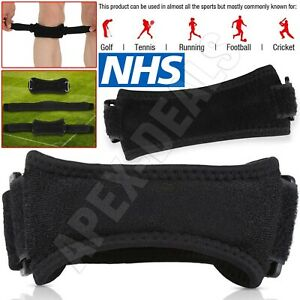 New Patella Knee Strap Adjustable Patellar Tendon Support Band Pain Relief Brace