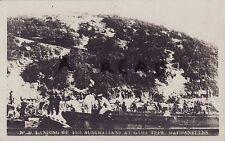 WW1 panorámico vista de la Australianos en Gaba Tepe Dardanelos Gallipoli