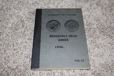 LIBRARY OF COINS ALBUM VOLUME 11     ROOSEVELT DIMES 1946-