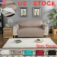 Waterproof Sofa Slip Cover Quilted Couch Cover Pet Dog Mat Furniture Protector