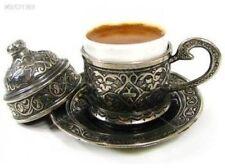 Handmade Porcelain Cups & Saucers