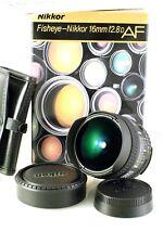 Nikon Fisheye-NIKKOR 16mm f/2.8 CRC D SIC AF Lens