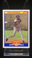 1989 Score #625 Gary Sheffield Rookie Card Milwaukee Brewers RC