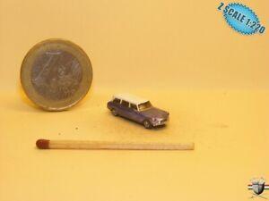 Citroen DS Break Stationwagon Z scale 1/220 Hand-painted Metal Model