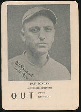 1924 WG7 Walter Mails Game -PAT DUNCAN (Cincinnati Reds) -Tough Type