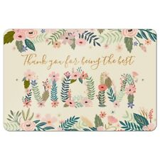 Thank You for Being the Best Mom Mother's Day Home Business Office Sign