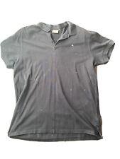 J Lindeberg JL Mens Golf Polo Shirt Black XL Extra Large