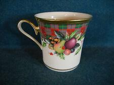 Lenox Holiday Tartan Coffee Mug(s)