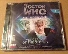 Doctor Who Vengeance Of The Stones Audio Book Cd Richard Franklin SEALED & MINT