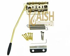 Gold ST Strat Style Guitar Tremolo Bridge Locking System for Stratocaster