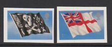 SPECIAL OFFER. GREAT BRITAIN 2001 FLAGS PAIR SELF-ADHESIVE SG 2208-09 MNH.