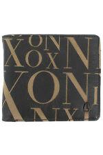 Nixon Langdon Brown Leather BiFold Wallet Coin Pocket Card Pocket