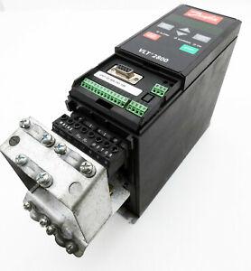 Danfoss VLT2807PD2B20STR0DBF00A00 195N0025 1,7kVA Frequenzumrichter -used-