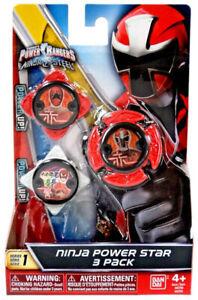 Power Rangers Ninja Power Star Series 1 Red Ninja Steel - Zeo - SPD Team