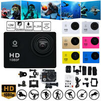 New Waterproof Camera HD 1080P Sport Action Camera DVR Cam DV Video Camcorder